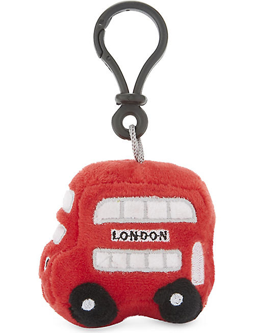 LONDON Bertie Bus bag clip 6.5cm