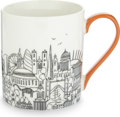 SKETCH LONDON London boxed china mug