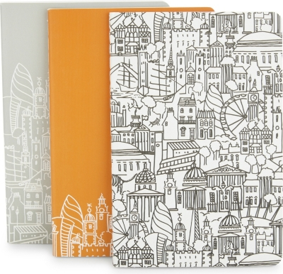 SKETCH LONDON London A6 notebooks