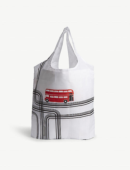 RED BUS London bus foldaway bag