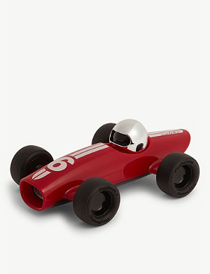 PLAYFOREVER Malibu Ross race car toy