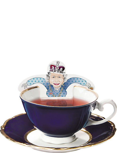 DONKEY PRODUCTS Tea party: royal tea bag set of five