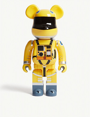 BE@RBRICK 2001: A Space Odyssey space suit 100% & 400% figures set of two
