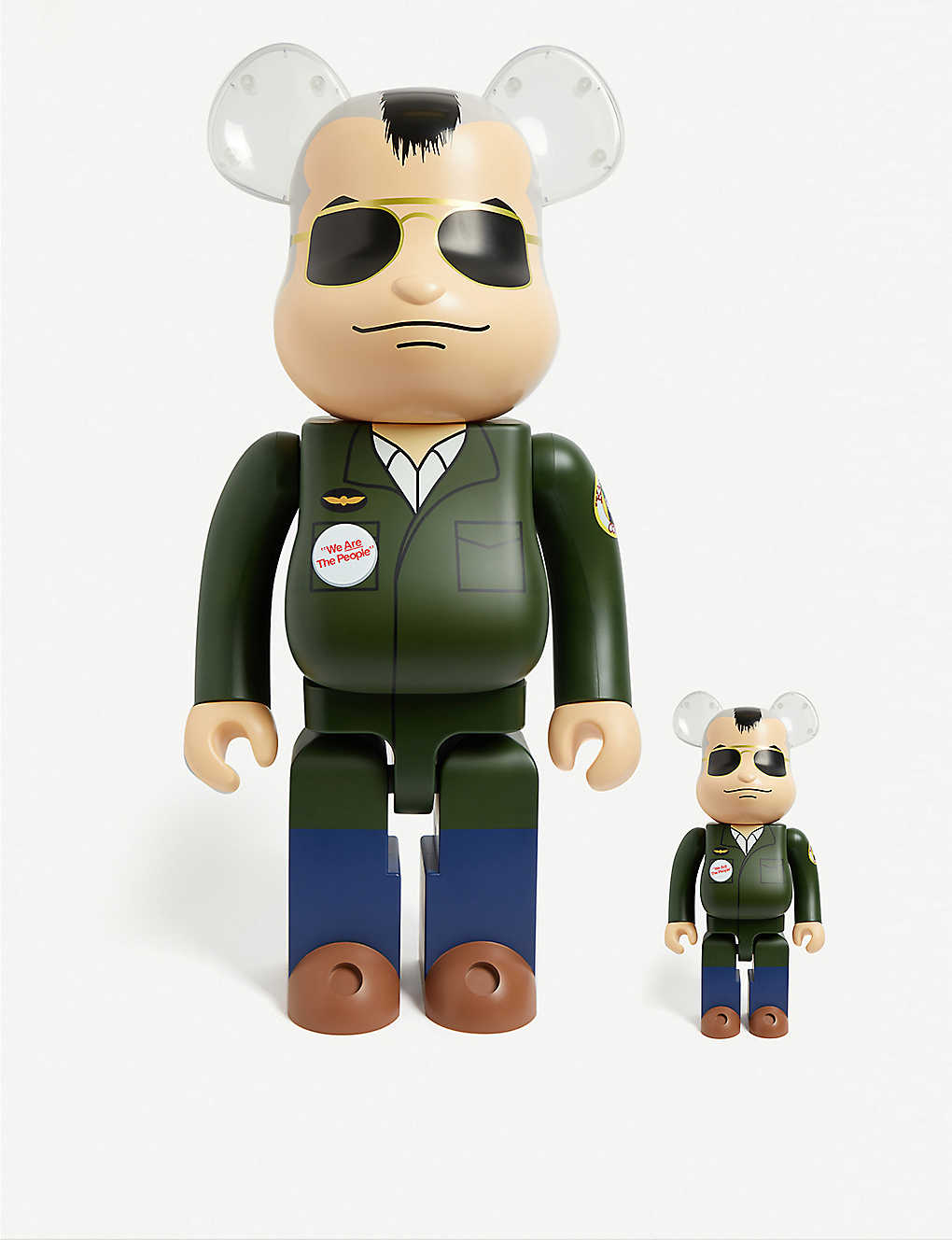 BE@RBRICK: Travis Bickle 100% & 400% figures set of two
