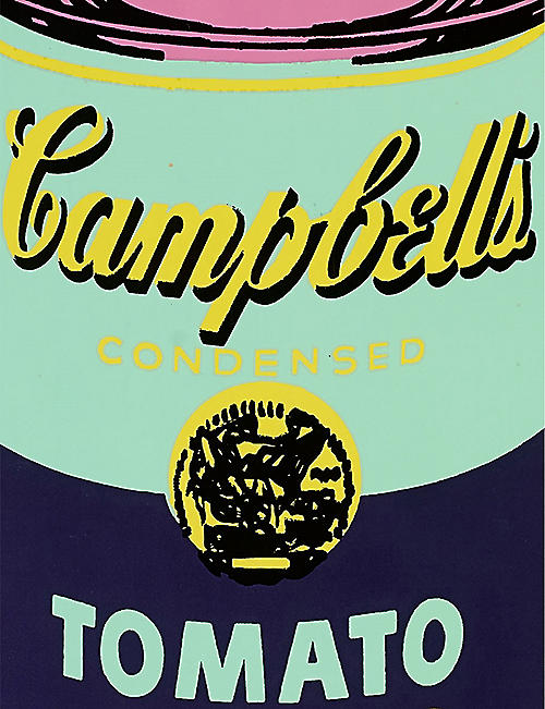 THE SKATEROOM Andy Warhol Campbell's Soup Can-print wooden skateboard deck