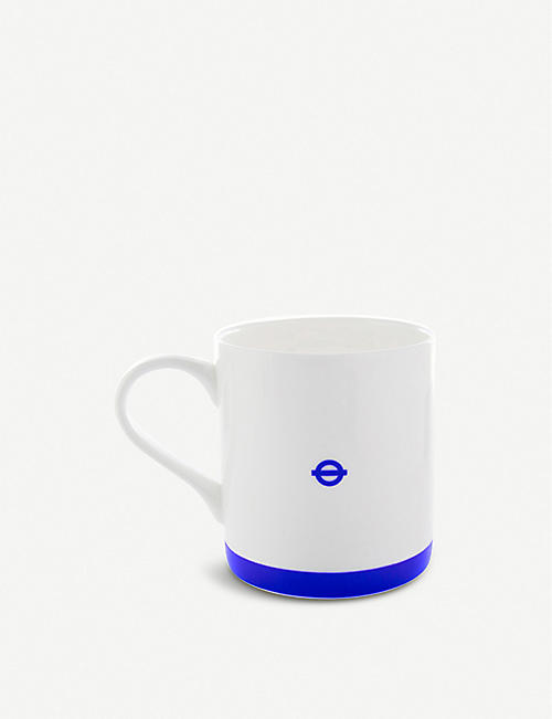 LU COLLECTIONS London Underground Piccadilly Line china mug