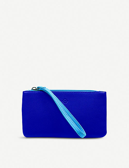 LU COLLECTIONS Piccadilly Line faux-leather purse