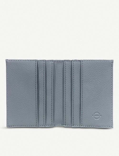 LU COLLECTIONS Hammersmith and City Line faux-leather wallet