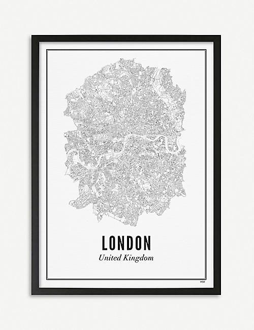 WIJCK London city print A3