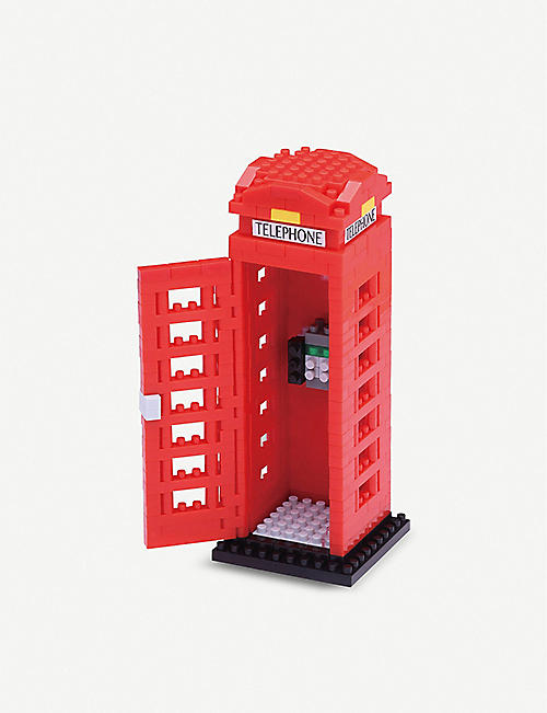NANOBLOCK Telephone Box building blocks set