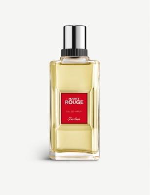 Guerlain Habit Rouge Eau De Parfum Spray 100ml Selfridges Com
