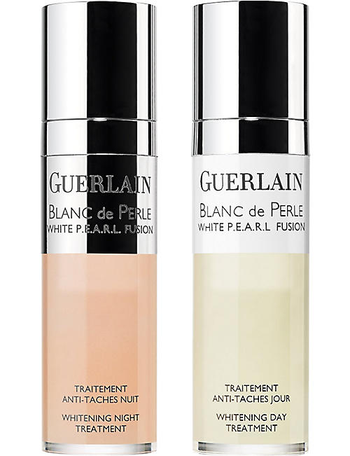 GUERLAIN Blanc de Perle Fusion whitening day & night treatment 2x15ml