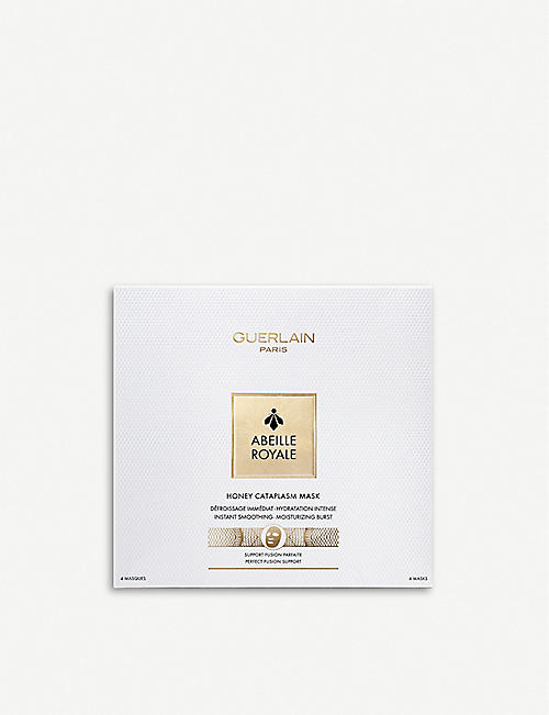 GUERLAIN Abeille Royale Honey Cataplasm Facial Masks pack of 4