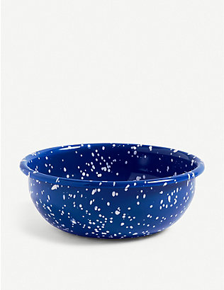 HAY: Speckle enamelled medium bowl 15cm