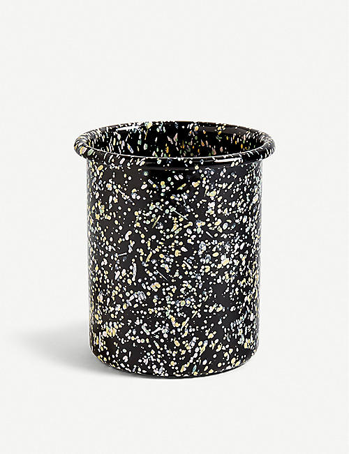 HAY: Enamel utensil holder