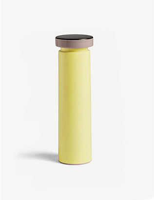 HAY: Medium stainless steel pepper grinder 20cm