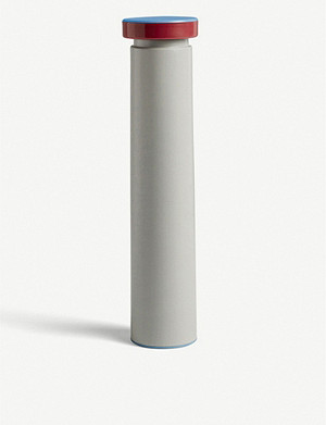 HAY Large stainless steel salt or pepper mill