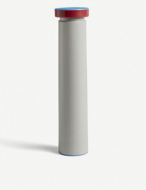 HAY: Large stainless steel salt or pepper mill