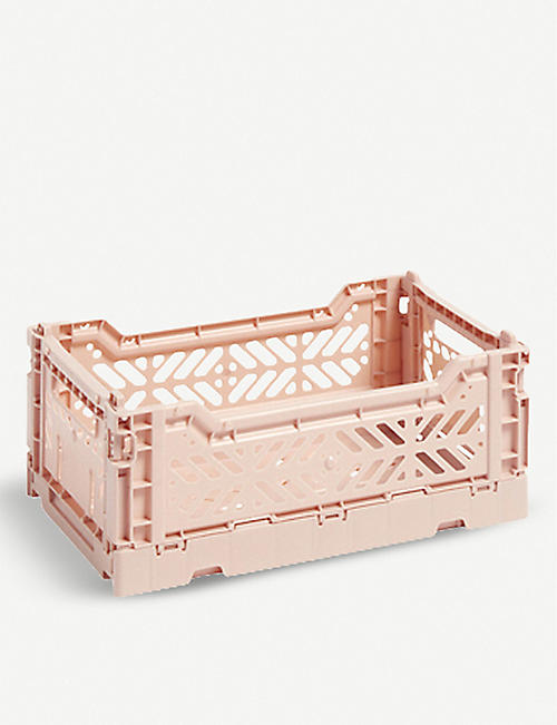 a24cea39c6d5 HAY Stackable small plastic crate 10.5x17x25.5cm