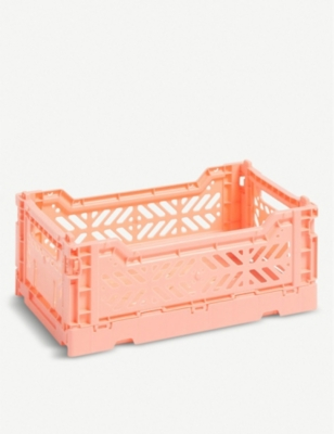 HAY Stackable 小塑料箱 10.5x17x25.5厘米