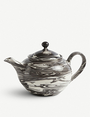 HAY Marbled effect teapot 800ml