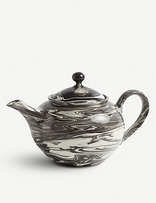 HAY: Marbled effect teapot 800ml