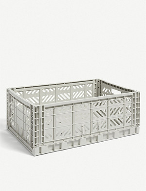 HAY Stackable plastic crate 22x60x40cm