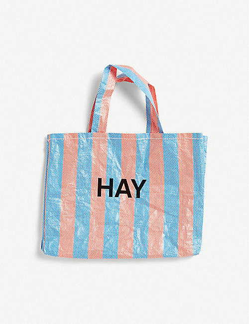 HAY Candy Stripe Medium shopper bag