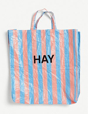 HAY Candy Stripe XL shopper bag