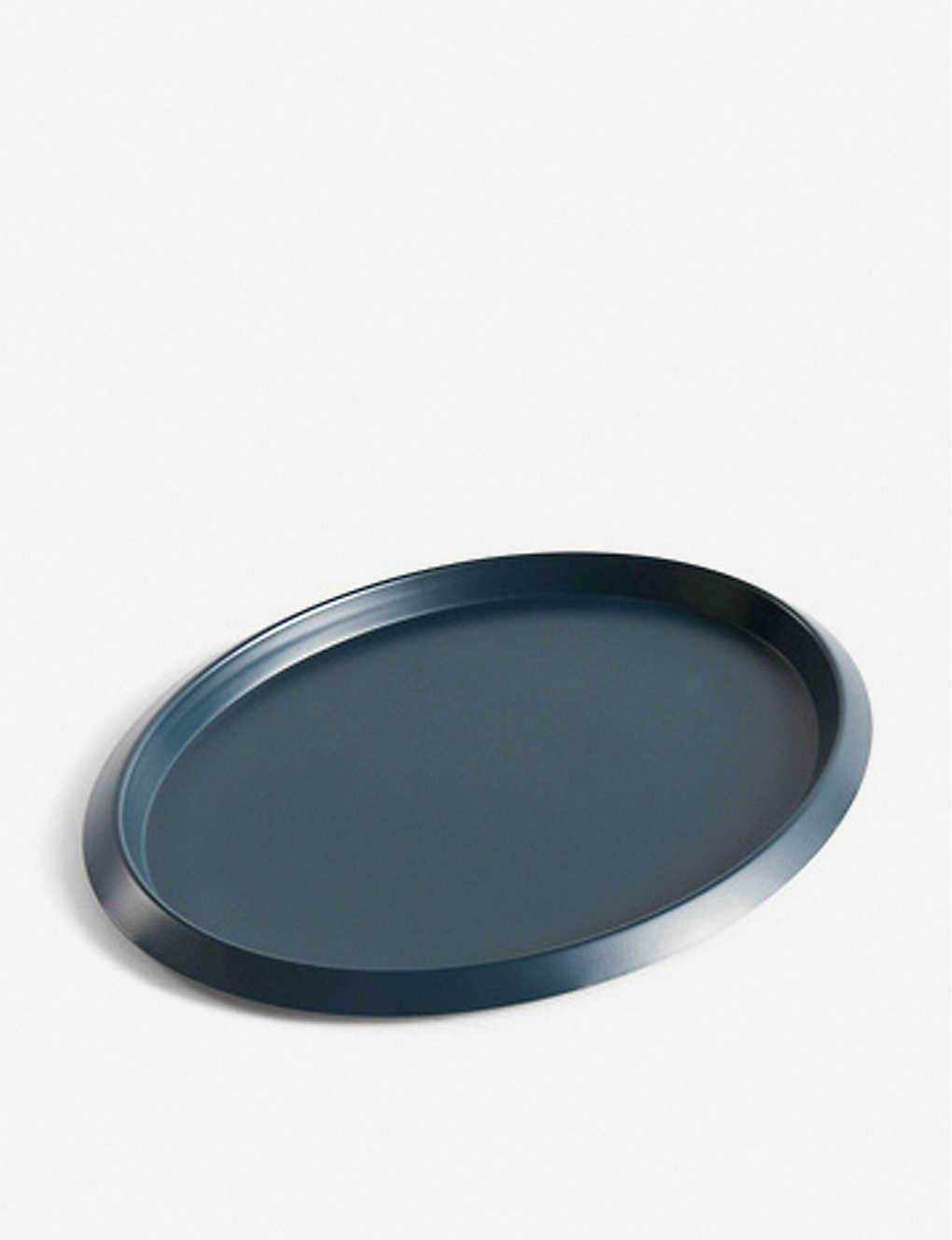 HAY: Ellipse stainless-steel tray 23.5x18.5cm