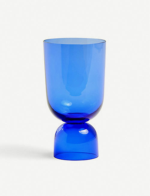 HAY: Bottoms Up glass vase 21.5cm
