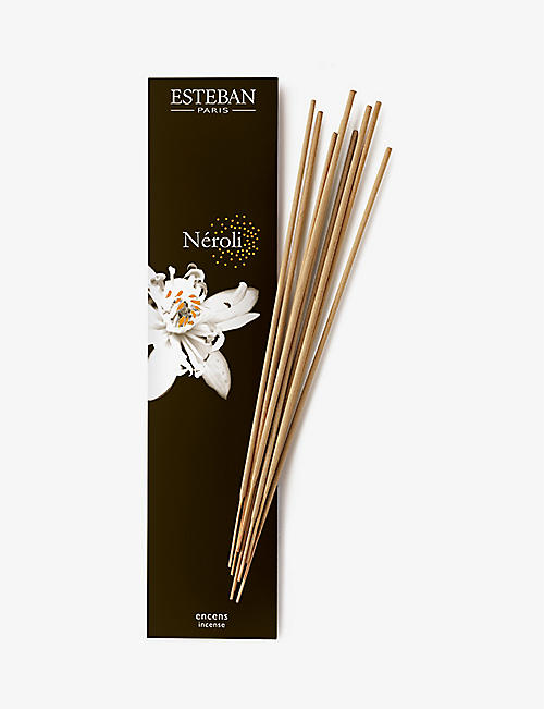 ESTEBAN: Néroli bamboo incense sticks pack of 20