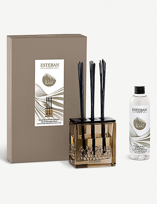 ESTEBAN Reve Blanc scented bouquet triptyque diffuser and refill