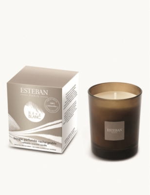 ESTEBAN Reve Blanc refillable scented candle