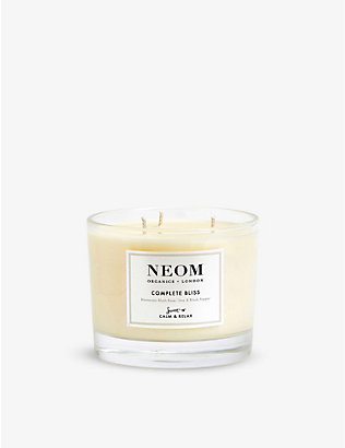 NEOM: Complete Bliss scented candle 420g