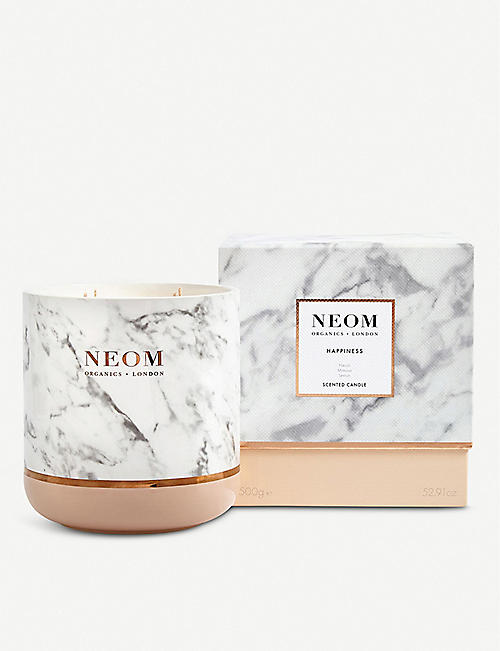 NEOM LUXURY ORGANICS Happiness Scented Candle 1500g