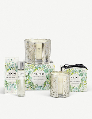 NEOM LUXURY ORGANICS Precious Moment three-wick scented candle 420g