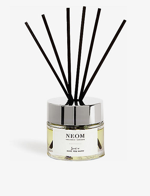 NEOM LUXURY ORGANICS Happiness reed diffuser 100ml