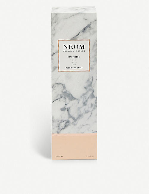 NEOM LUXURY ORGANICS Happiness ultimate reed diffuser 200ml