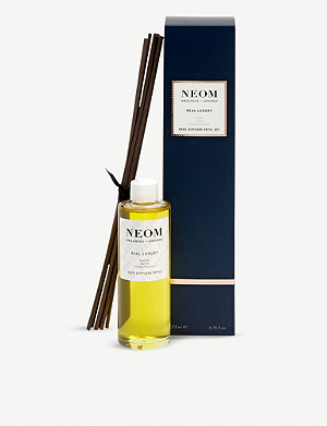 NEOM LUXURY ORGANICS Real Luxury reed diffuser refill set
