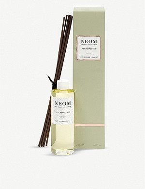 NEOM LUXURY ORGANICS Refreshed ultimate reed diffuser refill 200ml