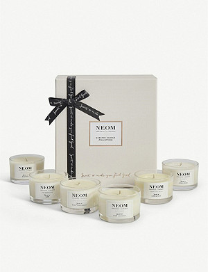 NEOM LUXURY ORGANICS Candle collection set of six