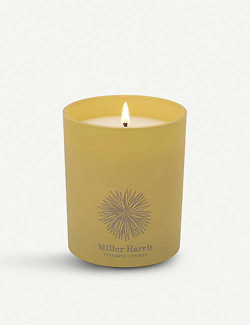 MILLER HARRIS: Reve de Verger scented home candle 185g
