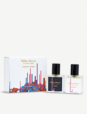MILLER HARRIS Scherzo x Tender eau de parfum set of two