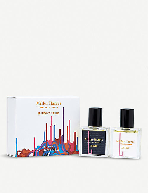 MILLER HARRIS: Scherzo x Tender eau de parfum set of two