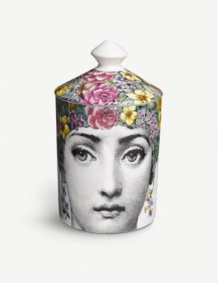 FORNASETTI Flora scented candle 300g