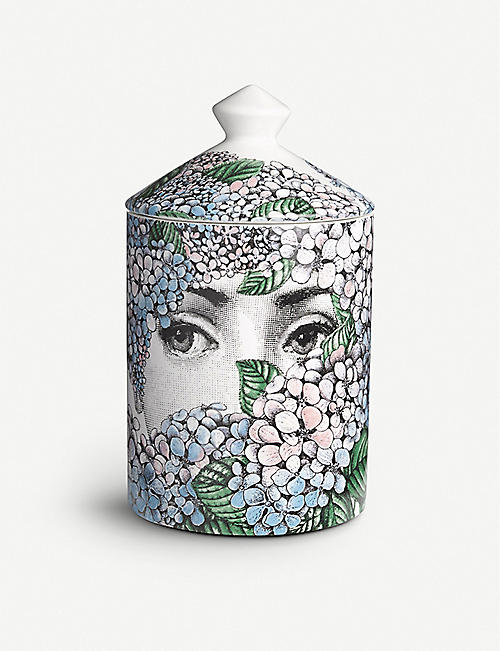 FORNASETTI: Ortensia scented candle 300g