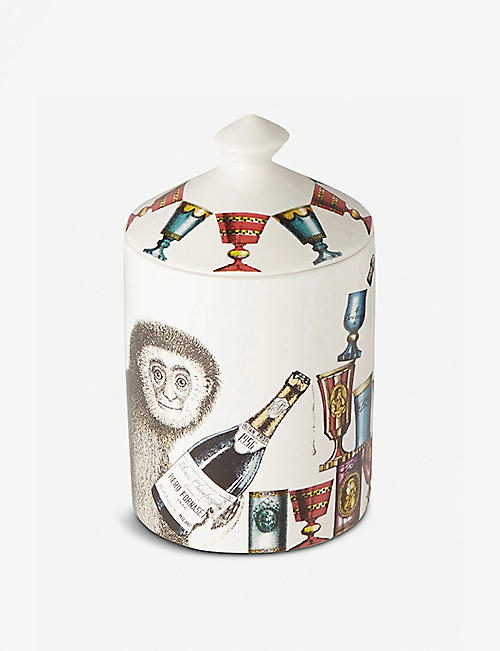 FORNASETTI: Scimmie scented candle 300g