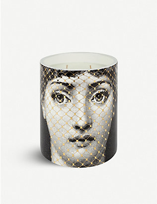 FORNASETTI: Golden burlesque gold 300g candle
