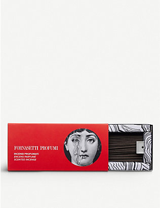 FORNASETTI: 80 stick incense refill box